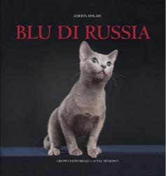 """Copertina del libro """"Blu di Russia"""" di Alberta Molare"""